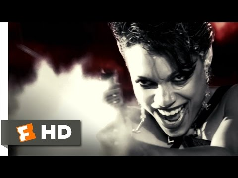 Sin City (8 12) Movie Clip - The Big Fat Kill (2005) Hd video