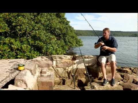 How to spool a Fishing Reel with Braided Line | The Hook and The Cook