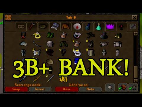Runescape - Sparc Mac's 3B+ Bank Video!