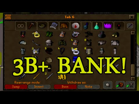 Runescape - Sparc Mac's 3B+ Bank Video!