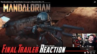 The Mandalorian Final Trailer Angry Reaction!