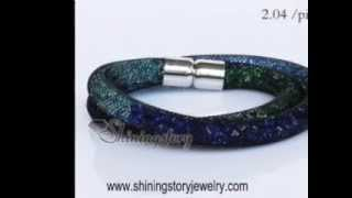 How to buy Swarovski style start dust bracelets in wholesale price