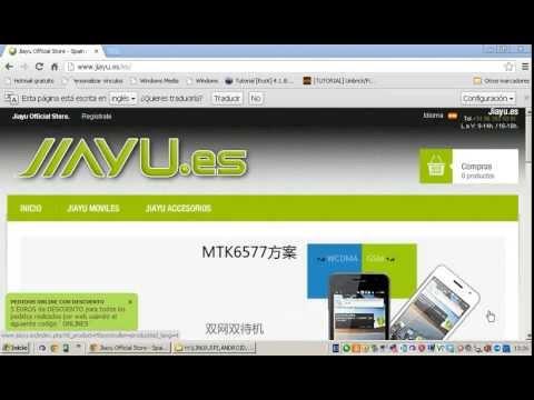Instalacion Drivers Preloader JIAYU.es