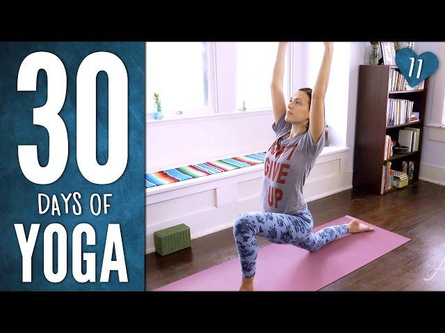 Day 11 - Shakti Yoga Practice - 30 Days of Yoga