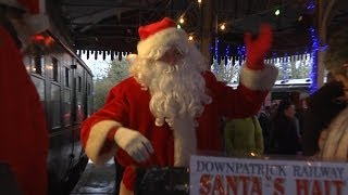 Downpatrick & Co. Down Railway - Lapland Express - 15th December 2013