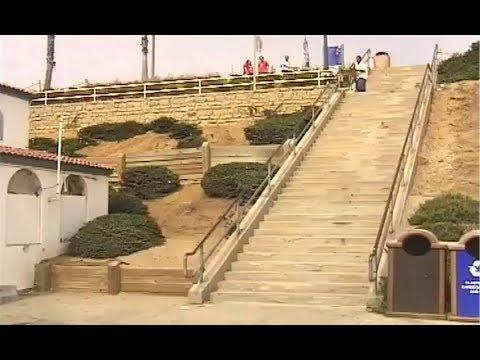 INSTABLAST! - TWEAKER Vs 36 STAIR RAIL! BS Flip Late Bigspin Over Fence! Filmer Snaps Skaters Board!