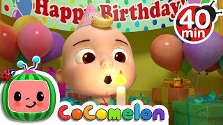 Happy Birthday Song | +More Nursery Rhymes & Kids Songs - Cocomelon (ABCkidTV)