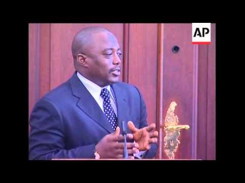 DRC President Joseph Kabila comments on Zimbabwe ahead of visit