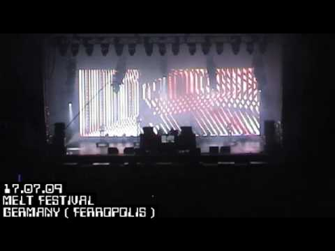 APHEX TWIN 2009 tour megamix