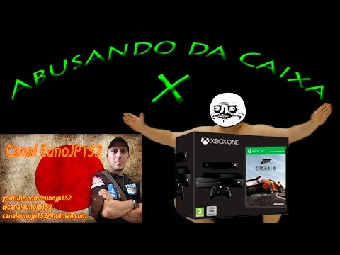 Xbox One - Abusando da Caixa X - Unboxing