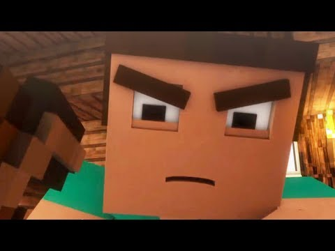 where My Diamonds Hide - A Minecraft Parody Of Imagine Dragon's Demons (music Video) video