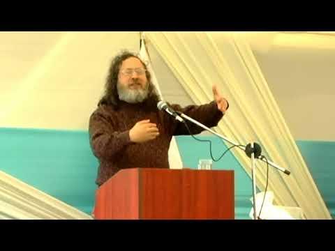 Conferencia Magistral Software Libre Dr Richard Matthew Stallman 02.mpg