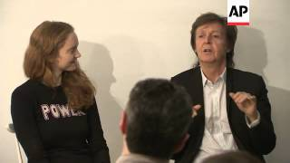 Sir Paul McCartney gives out his tips on songwriting at community chat event