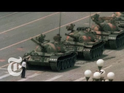 Tiananmen Square Protests: Nicholas Kristof on the Unlikely Heroes  | The New York Times