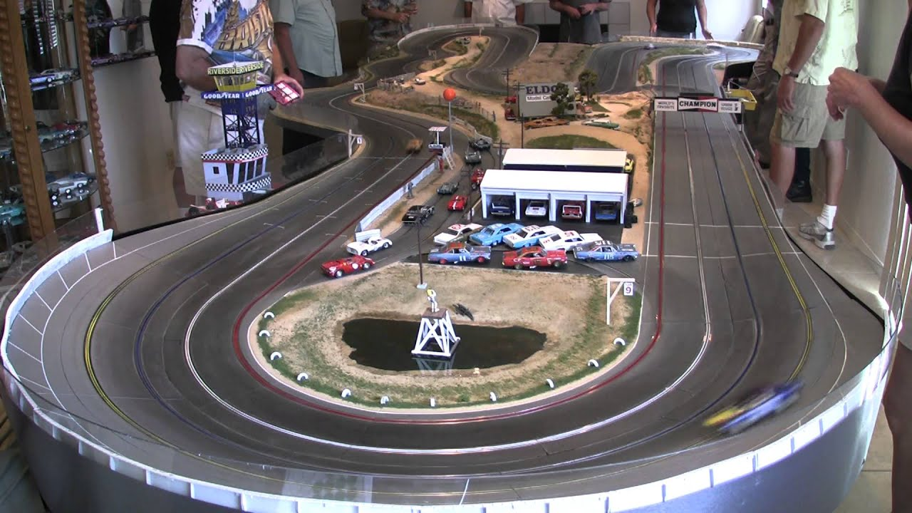 1970 Trans Am Slot Cars at Model Riverside Raceway - YouTube