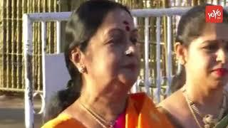 Actress Saroja Devi Visits Tirumala Tirupati Devasthanam