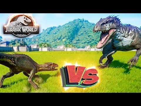ИНДОРАПТОР vs ИНДОМИНУС РЕКС - Схватки Динозавров - Jurassic World EVOLUTION #5