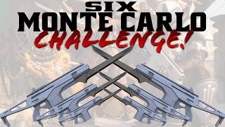 MONTE CARLO ONLY CHALLENGE!! (Funny Destiny Gun Challenge Gameplay)