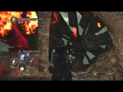 Dark Souls 2 Earthen Peak Secrets + Mytha The Baneful Queen Easy Defeat