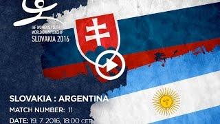Словакия до 18 : Аргентина до 18