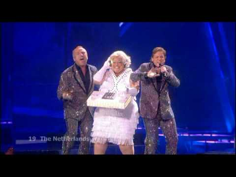 Eurovision 2009 Semi Final 2 19 Netherlands *The Toppers* * Shine* 16:9 HQ