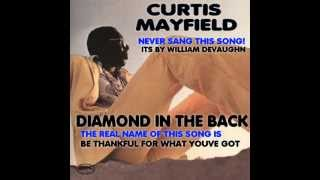"NOT Curtis Mayfield ""Diamond In The Back"""