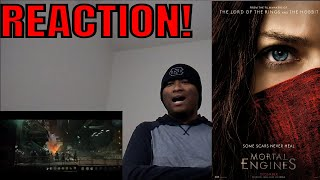 Mortal Engines Official Trailer REACTION!!!