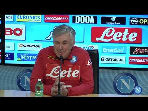 conferenza stampa di presentazione di Cagliari - Napoli