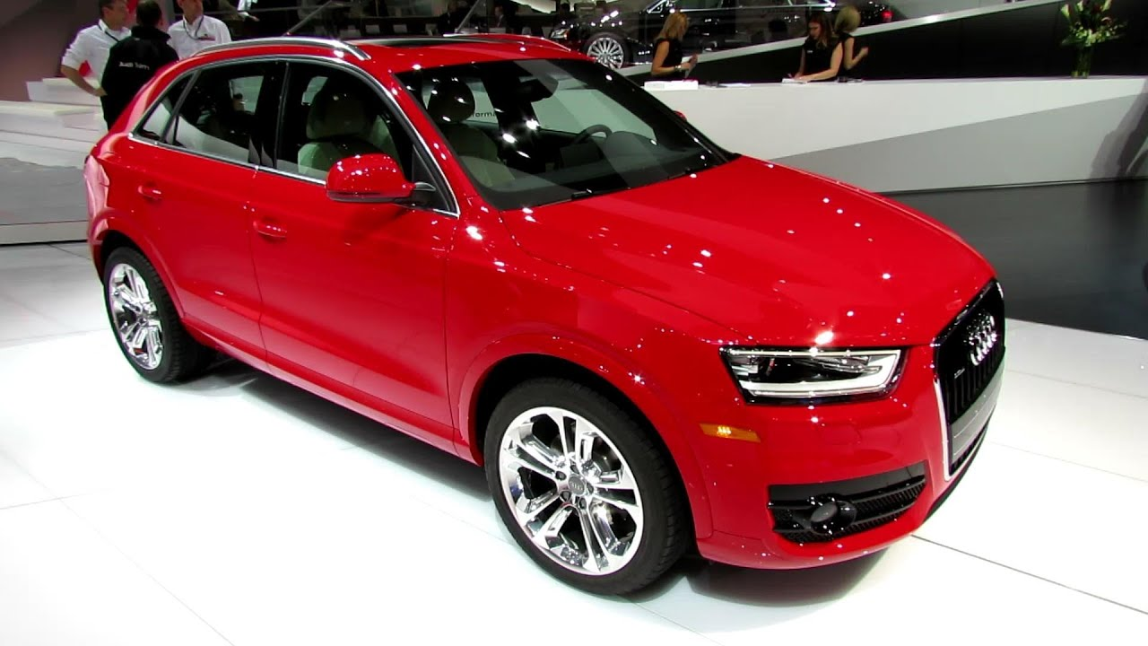 2015 audi q3 tfsi quattro exterior and interior walkaround 2014 detroit auto show youtube