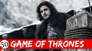 Top 100 Secrete Din Game Of Thrones/Urzeala Tronurilor