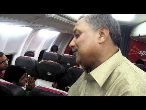 SpiceJet's newest employee offers dinner