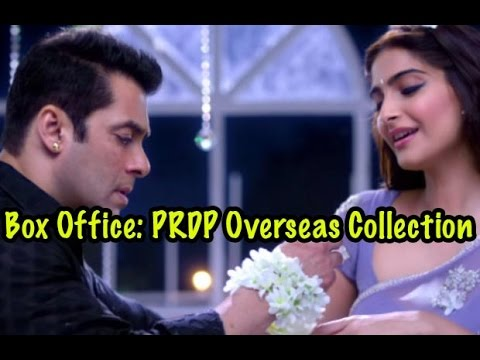 Box Office: Overseas Weekend Collection Of Salman Khan's Prem Ratan Dhan Payo
