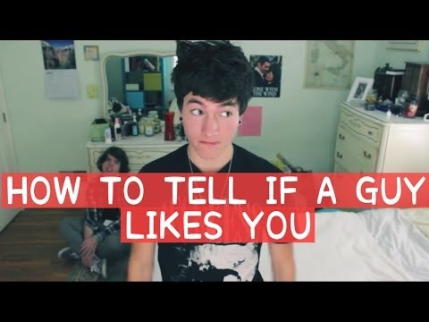 tell if guy likes you