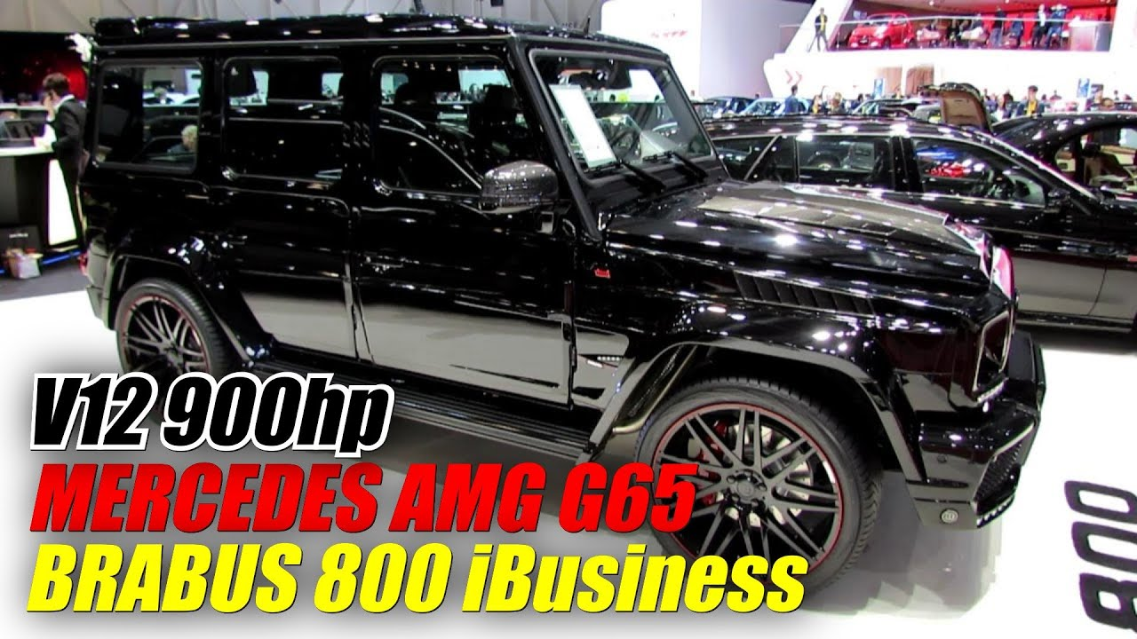 2014 mercedes benz g class g65 amg brabus 800 ibusiness for Mercedes benz g class brabus