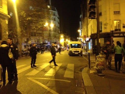 """Attentats terroristes à Paris: """"Des gens masqués, armés ont tiré de tous côtés"""""""