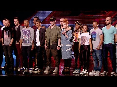 Groups Reveal - The X Factor UK 2012