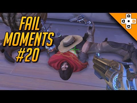 Overwatch Fail Moments #20 - Highlights Montage