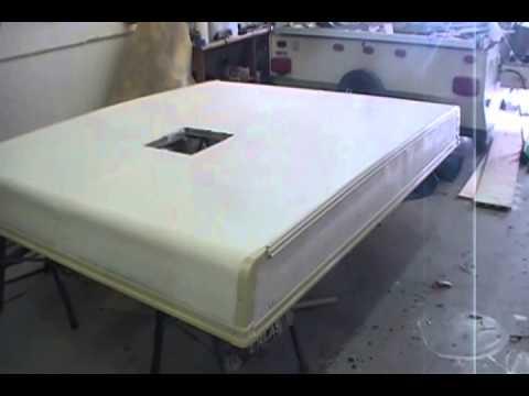 Pop Up Camper Roof Repair Pt6 Youtube