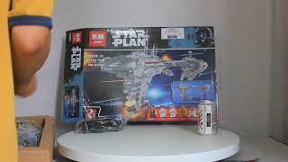 Mở hộp Lepin 05083 Lego Star Wars MOC Nebulon-B Medical Frigate giá sốc rẻ nhất