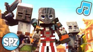 """Minecraft Song ♫ """"Safe Again"""" Minecraft Parody (Minecraft Animation)"""