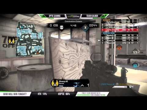 SCUF Showdowns Optic vs TK Game 4 Dom Octane September 18 2014
