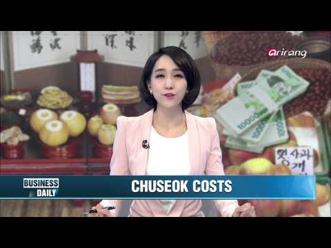 Business Daily Ep115 Chuseok costs