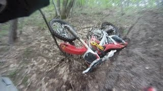 CRF 250 Wide Open - How Destroy Your Bike