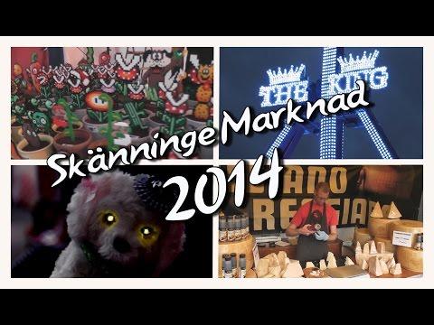 TDG Travels - Skänninge Marknad 2014 - Mario, Ost och Spökhundar
