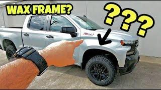 2019 Chevy Silverado Frame: Wax coated or E-Coated???