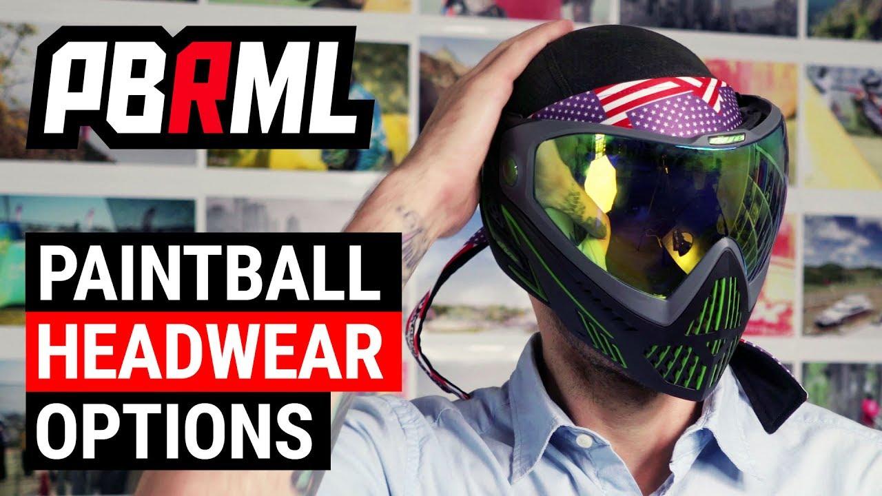 Headband paintball