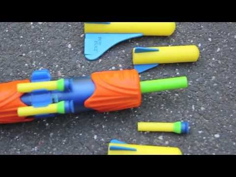 Zoom Zooka Review of 4-In-1 Air and Water Blaster From Zing Toys