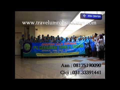 Youtube mabruro travel umroh surabaya 2015