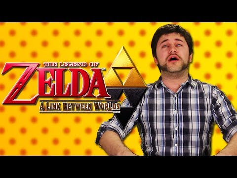 Hot Pepper Game Review feat. Barry Kramer - Legend of Zelda: A Link Between Worlds
