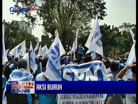 Live Report: Aksi Ribuan Buruh Di Istana Negara - BIS 01/09